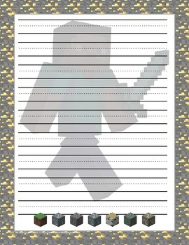 Minecraft Themed Stationary