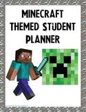 Minecraft Themed Student Planner {Boys Edition}