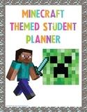 Minecraft Themed Student Planner {Girls Edition}