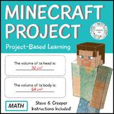 Minecraft Volume Project - Math - PBL