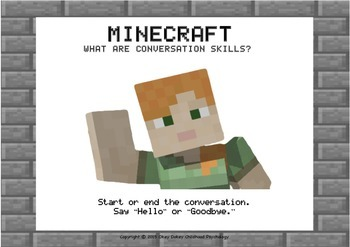 Minecraft - What is a conversation?