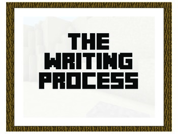 Minecraft Writing Process