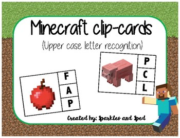 Minecraft clip cards