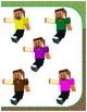 Minecraft color match folder activities