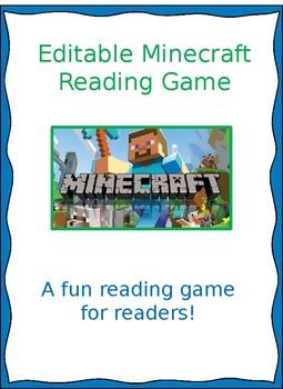 Minecraft- editable reading game