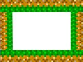 Minecraft Bulletin Board Border (Minecraft Inspired) made