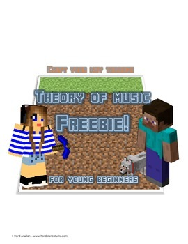 Minecraft themed Theory of music Freebie