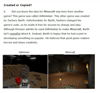 Minecrafted Success: STAAR Literary Nonfiction Practice Passage