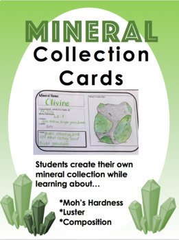 Mineral Collection Cards