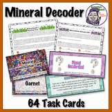 Mineral Decoder Task Card Game
