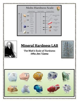 Rocks and Minerals:  Mineral Game - WHO AM I?  Making Mine