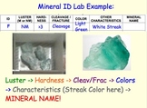 Mineral Identification - Lesson Presentations, Lab Experiments, Videos