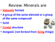 Mineral Identification Tests 1 Powerpoint