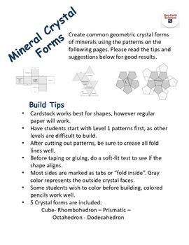 Mineral Lab - Crystal Shape Models