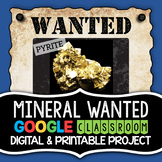 Mineral Most Wanted Project (Digital and Printable Options)