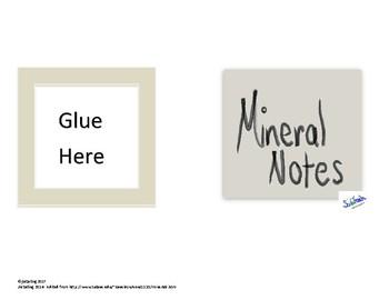 Mineral Notes (TEKS 6.6C)