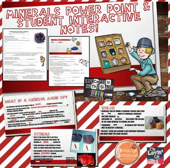 Mineral PPT and Student Interactive Notes
