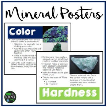 Mineral Posters