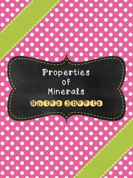Mineral Properties
