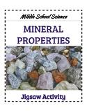 Mineral Properties Jigsaw- Middle School Science