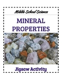 Mineral Properties Jigsaw- Middle School Science