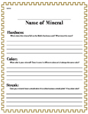 Mineral Properties Research project