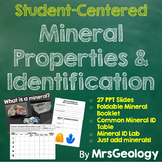 Mineral Property and Identification Lesson with Foldable M