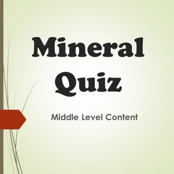 Mineral Quiz