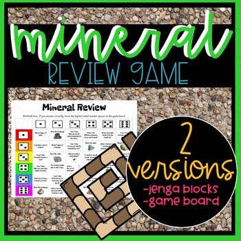 Mineral Review Games