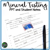 Mineral Testing: PPT and Student Notes