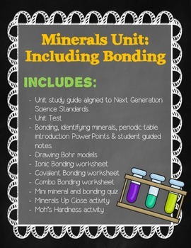 Mineral Unit: Includes Bonding