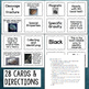 Mineral Sorting Cards