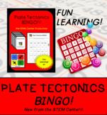 Plate Tectonics Bingo Game