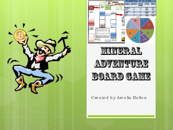 Minerals Adventure Board Game