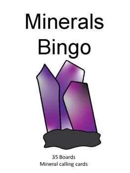 Minerals BINGO!