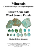 Minerals: Chemical Groups and Crystal Systems - Review Qui