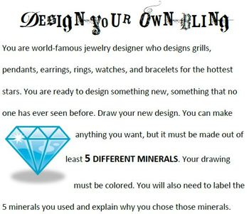 Minerals: Design Your Own Bling