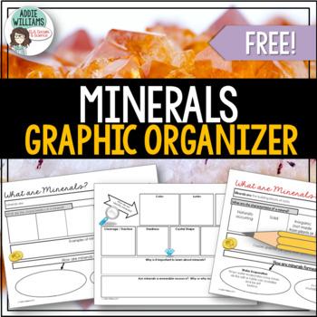 Minerals - Graphic Organizer