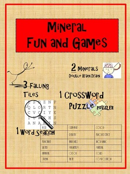 Minerals Fun and Games