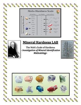 Rocks and Minerals:  Minerals Game -Hardness Range LAB (Scratch Test) FUN/EASY!