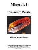 Minerals I - Crossword Puzzle