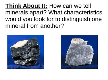 Minerals Introductory Notes