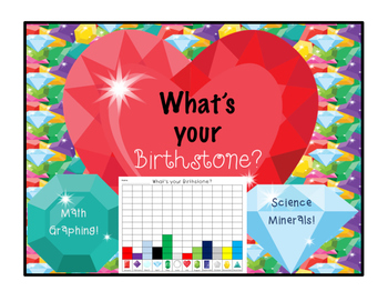 Minerals & Math- Chart your Birthstone!