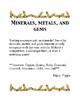 Minerals, Metals, and Gems Identification