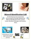 Rocks and Minerals:  Mineral Identification LAB (COLORFUL and Multi-Level)