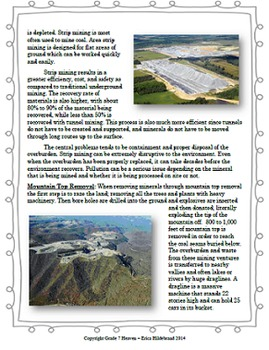 Minerals, Mining, and the Environment