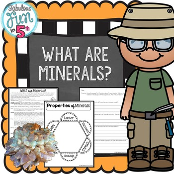 Minerals: Nonfiction Passage and Foldable