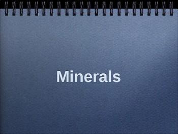 Minerals PowerPoint
