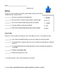 Minerals Quiz with Answer Key