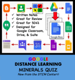 Minerals Quiz Google Doc - Distance Learning Friendly
